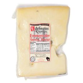Edelweiss Creamery Emmentaler Switzerland Swiss Cheese