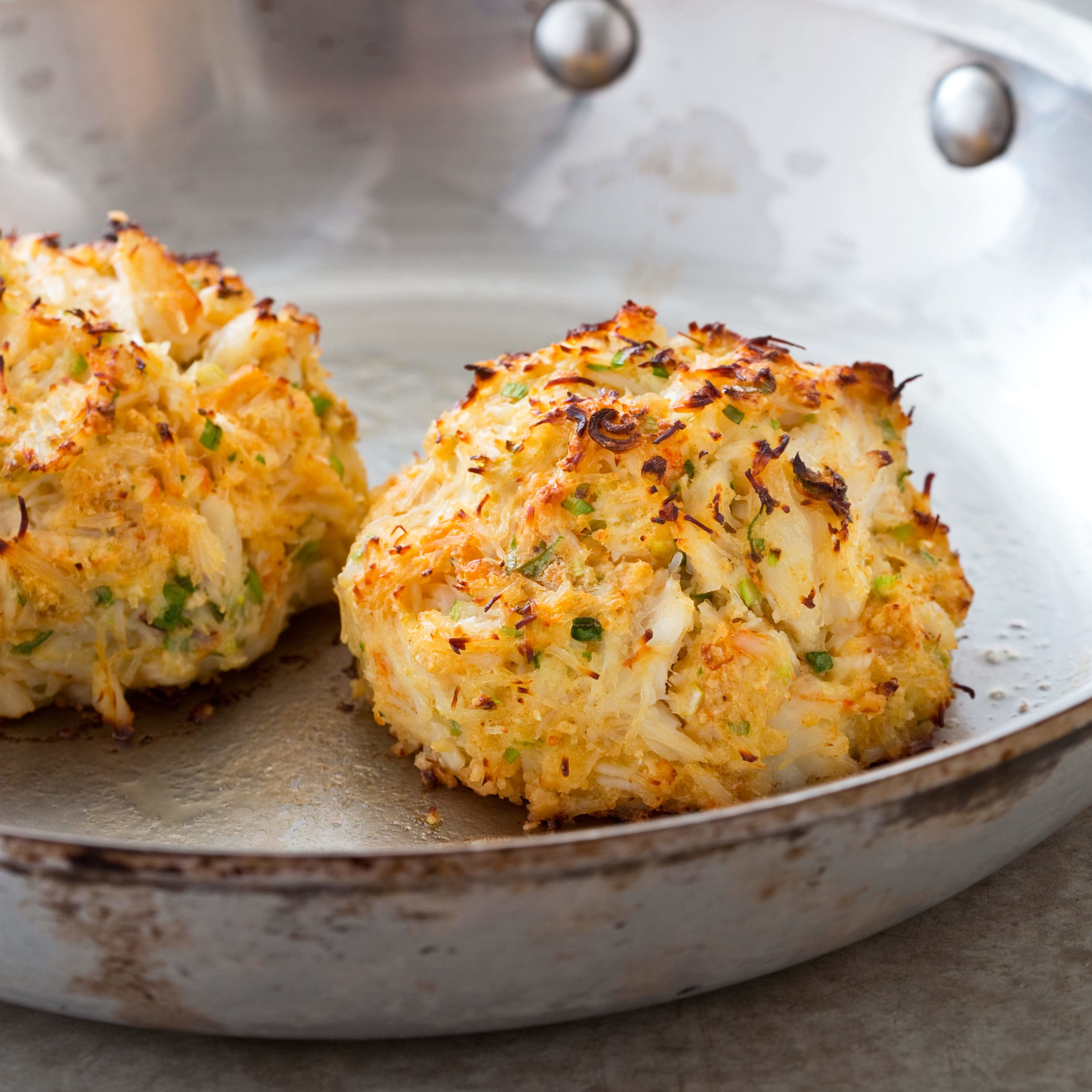 Maryland Crab Cakes Pan Fried Crab Cakes With Old Bay