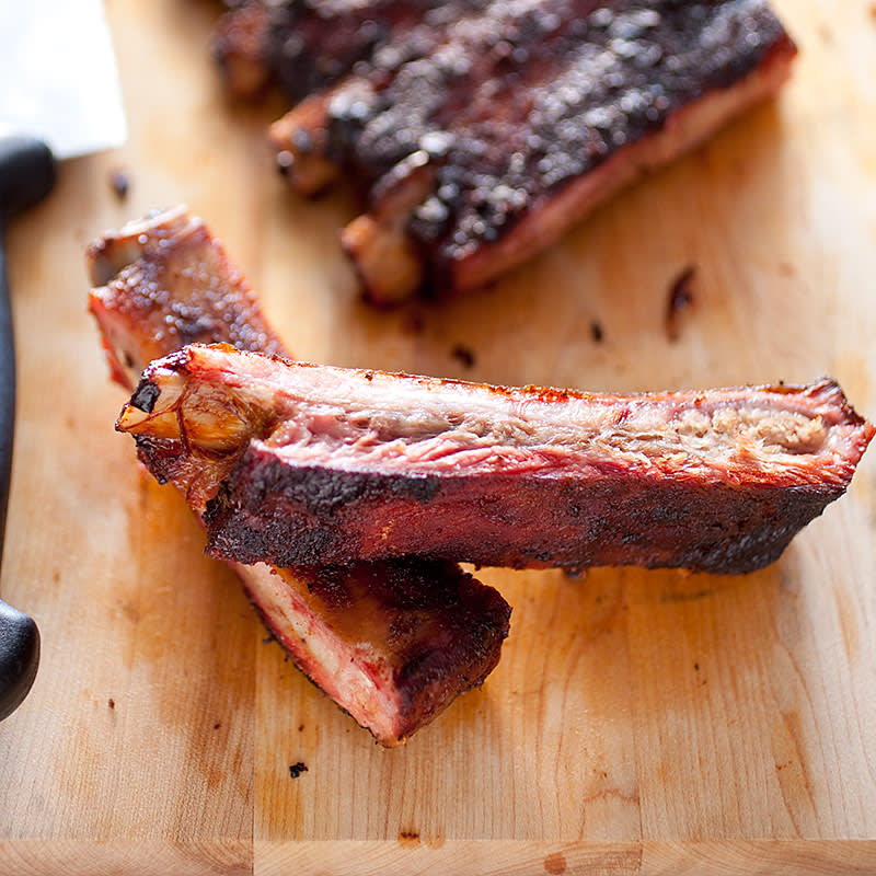 Kitchen Styles Quiz: Memphis-Style Barbecued Spareribs On A Charcoal Grill