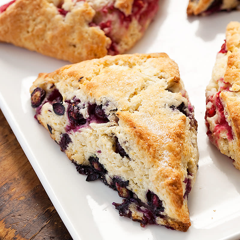 Blueberry Scones America S Test Kitchen