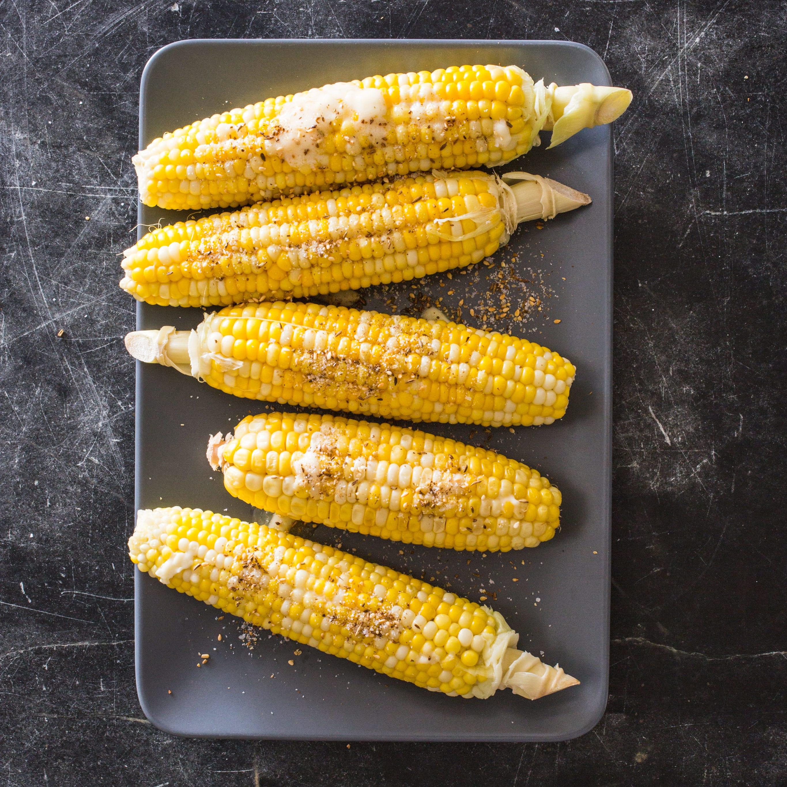 kitchen hack corn on the cob