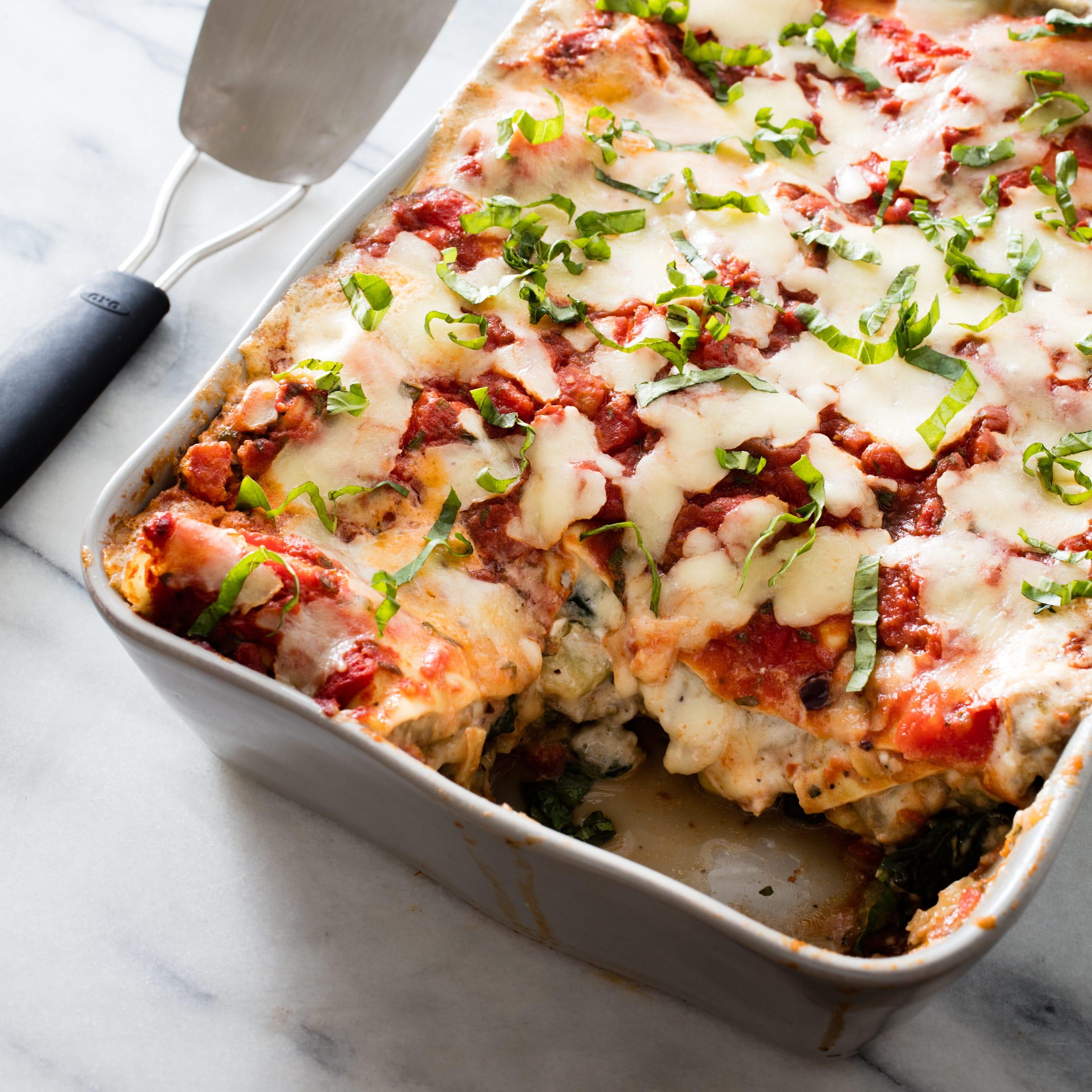 Vegetable Lasagna America S Test Kitchen