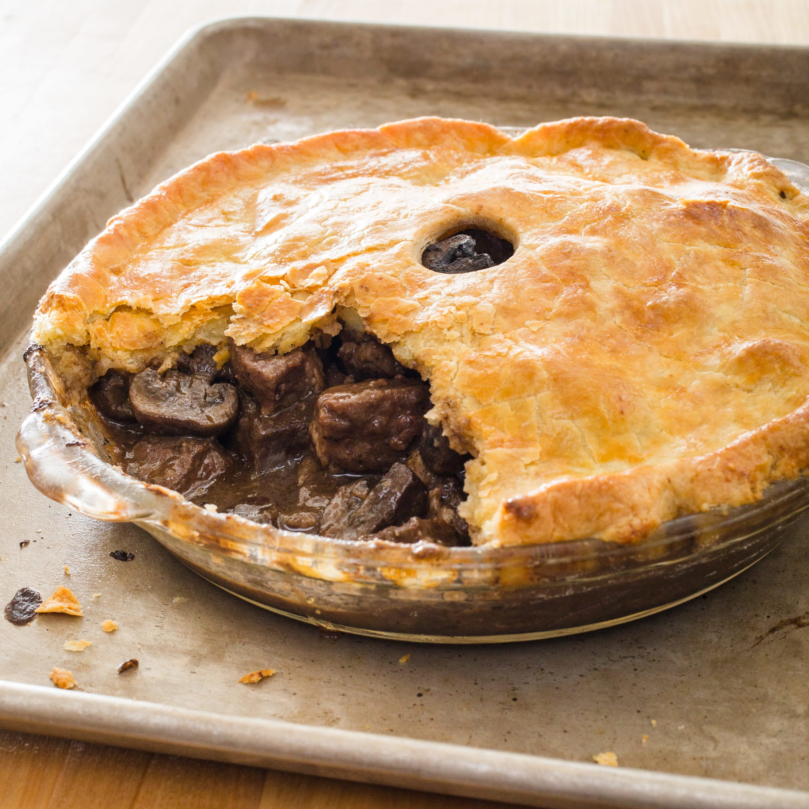 British Steak And Ale Pie