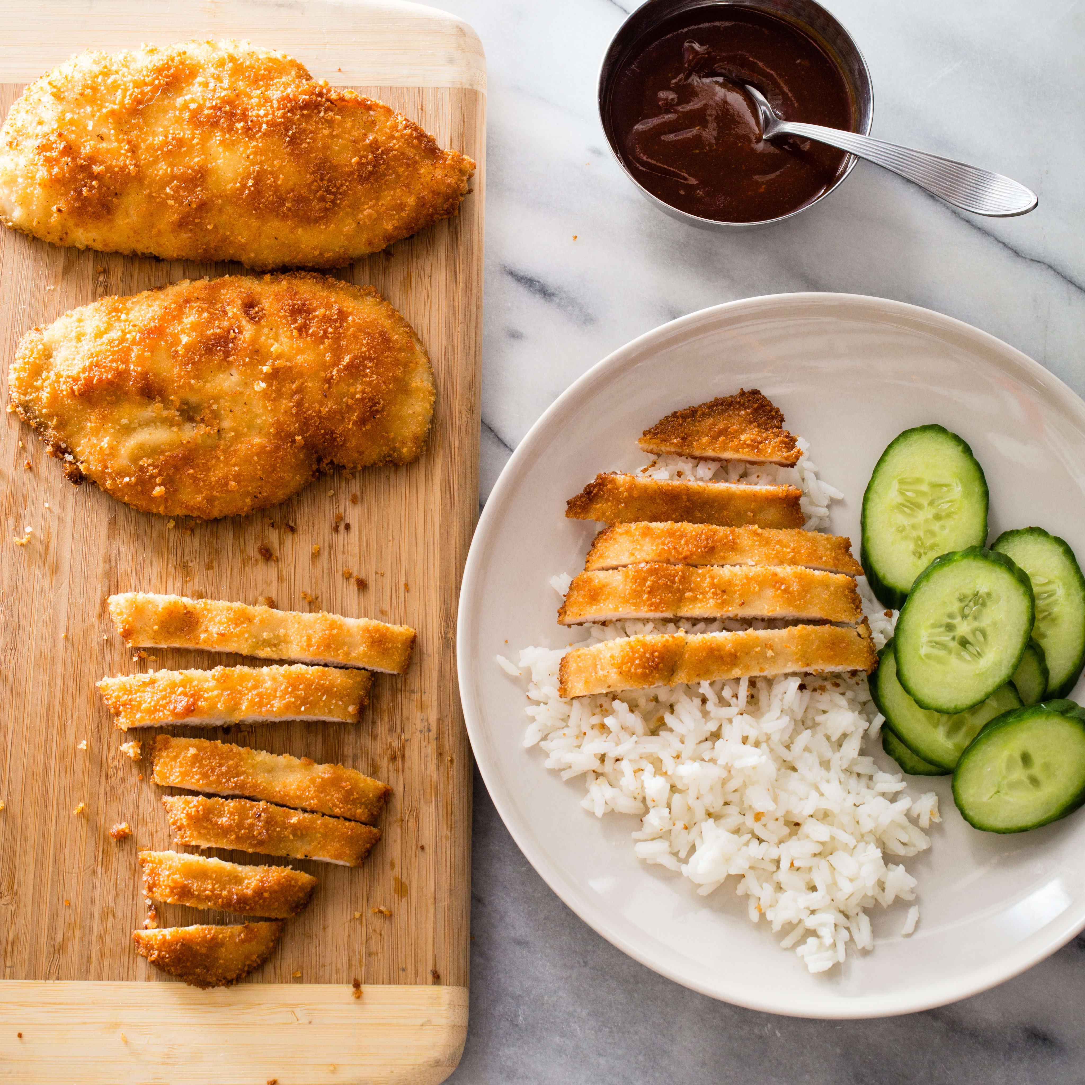 Crispy Pan Fried Chicken Cutlets America S Test Kitchen
