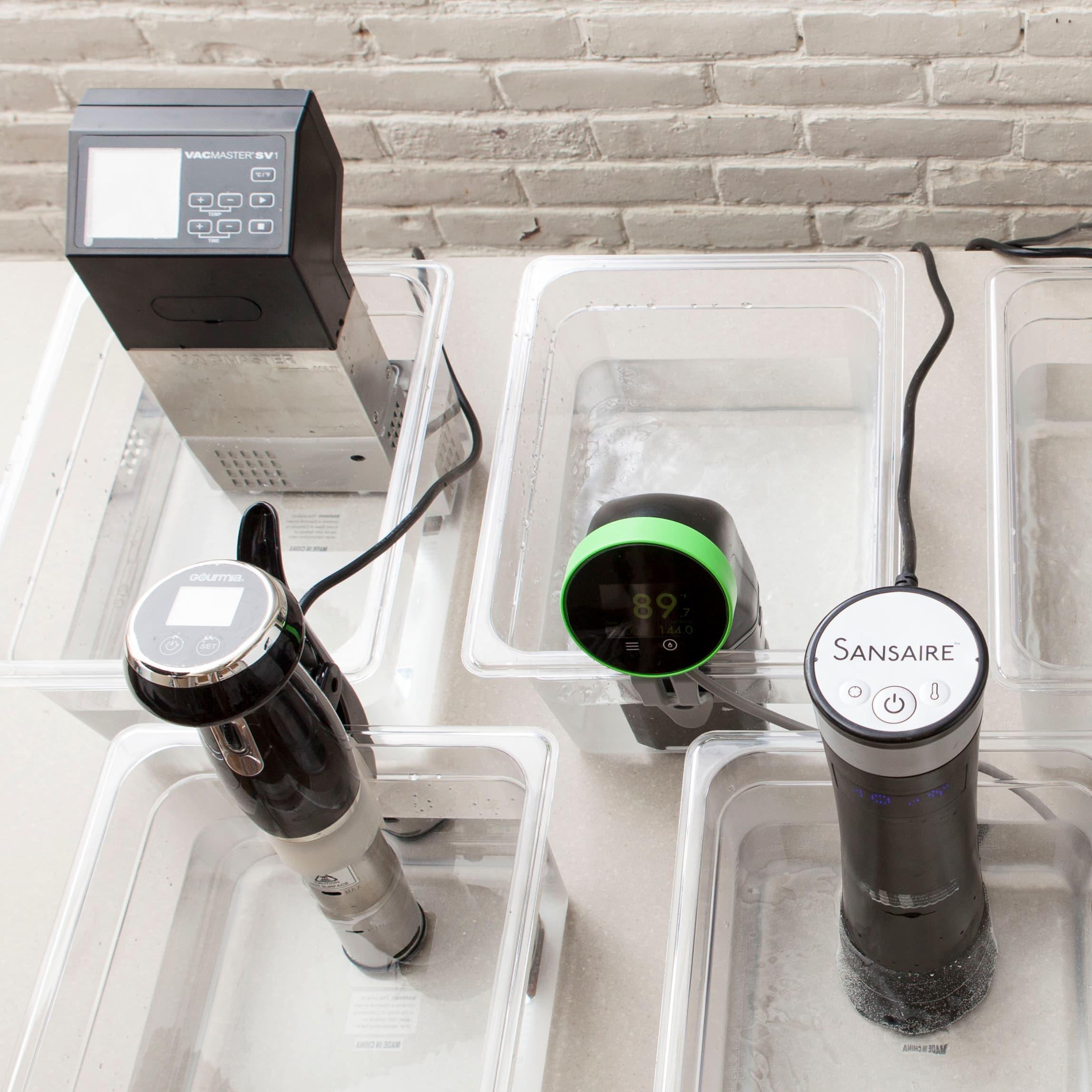 Testing Sous Vide Machines (Immersion Circulators)