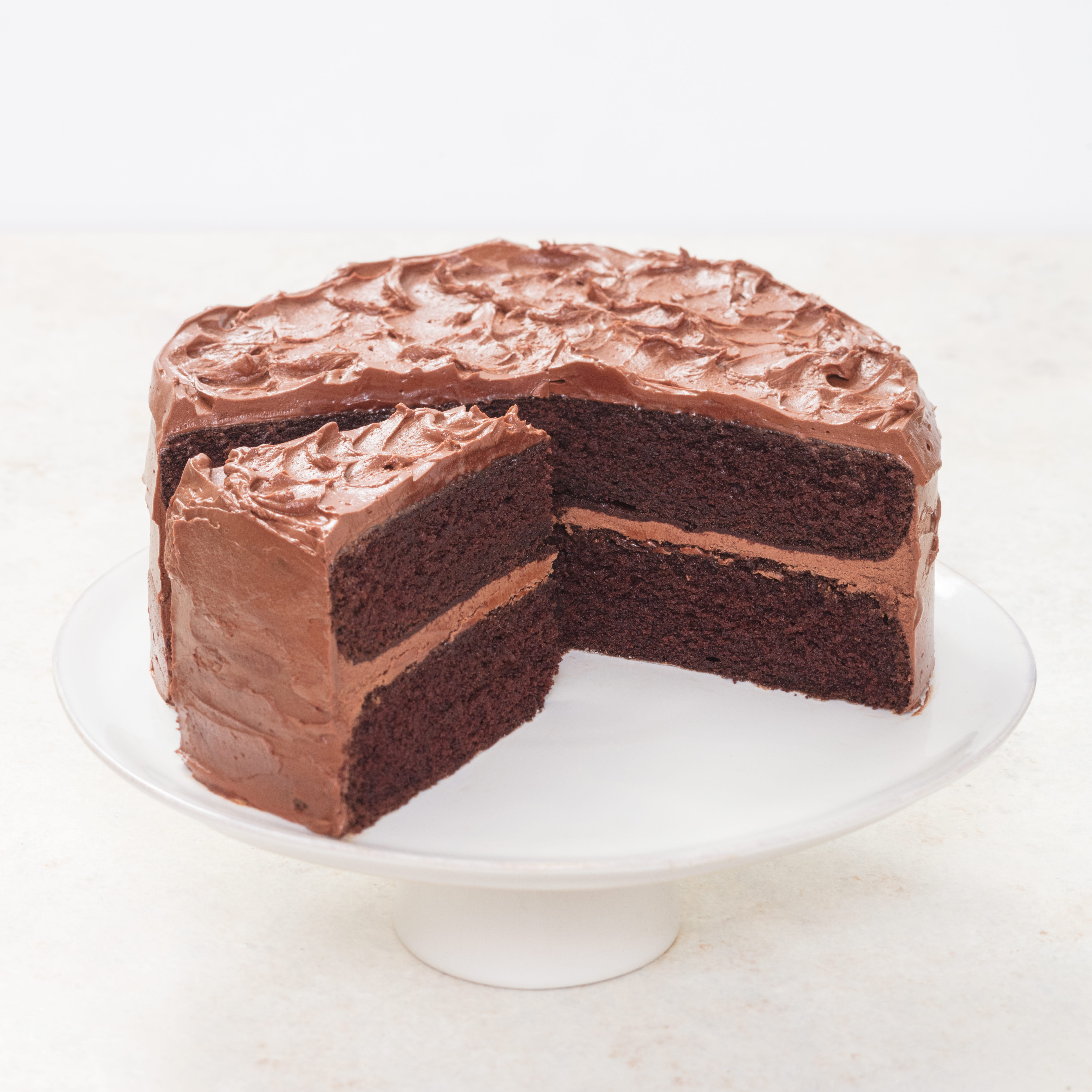 Old Fashioned Chocolate Layer Cake America S Test Kitchen
