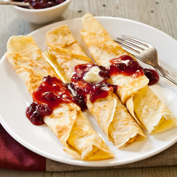 Swedish pancakes cooks country ingredients ccuart Images