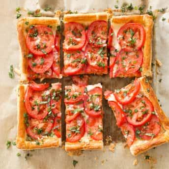 Tomato And Mozzarella Tart America S Test Kitchen