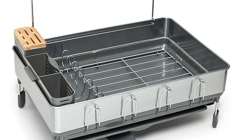 22071 sil dishdryingracks simplehumansteelframe kt1154