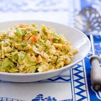 Sweet And Sour Coleslaw America S Test Kitchen