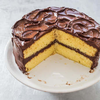 American test kitchen yellow cake recipe