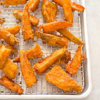 Crispy Sweet Potato Fries America S Test Kitchen