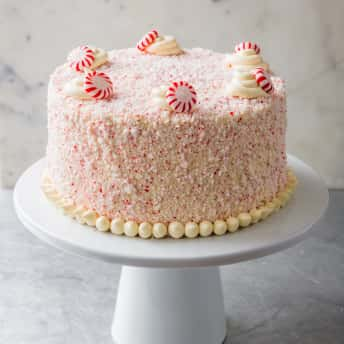 Cook S Illustrated Chocolate Candy Cane Cake