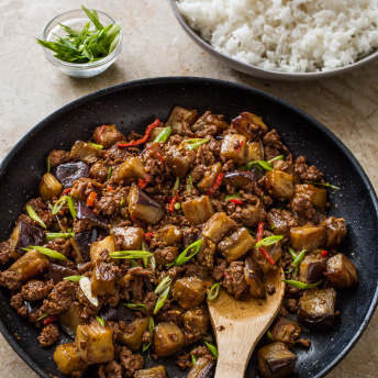 Chinese style beef and eggplant cooks country ingredients forumfinder Images