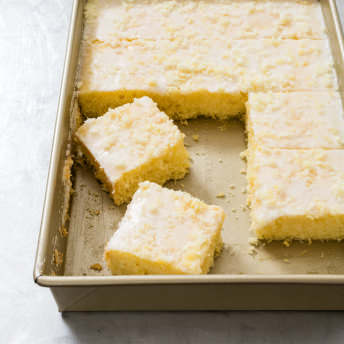 Lemon Buttermilk Sheet Cake Cook S Country