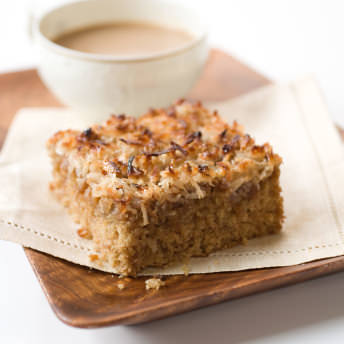 Oatmeal Cake With Broiled Icing Test Kitchen