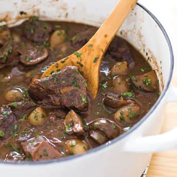 Modern Beef Burgundy America S Test Kitchen