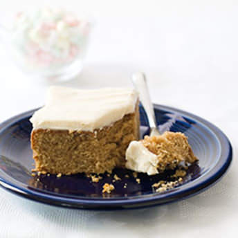 Spice Cake With Cream Cheese Frosting America S Test Kitchen