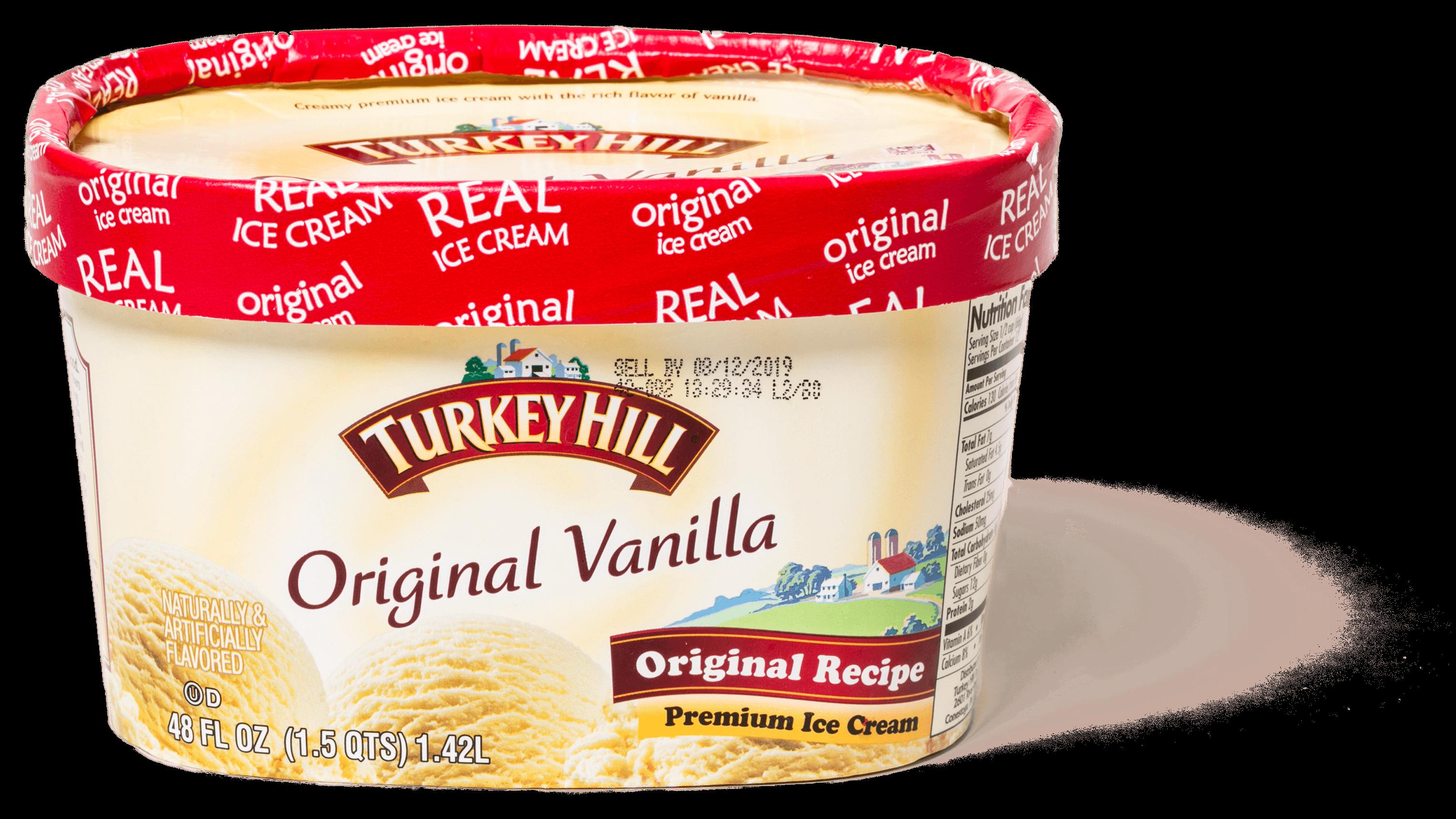 44478 sil turkey hill original vanilla premium ice cream