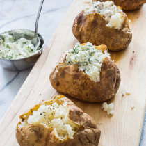 Goat Cheese Topping For Baked Potato America S Test Kitchen