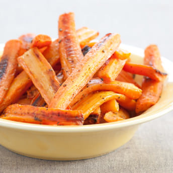 America Test Kitchen Roasted Carrots