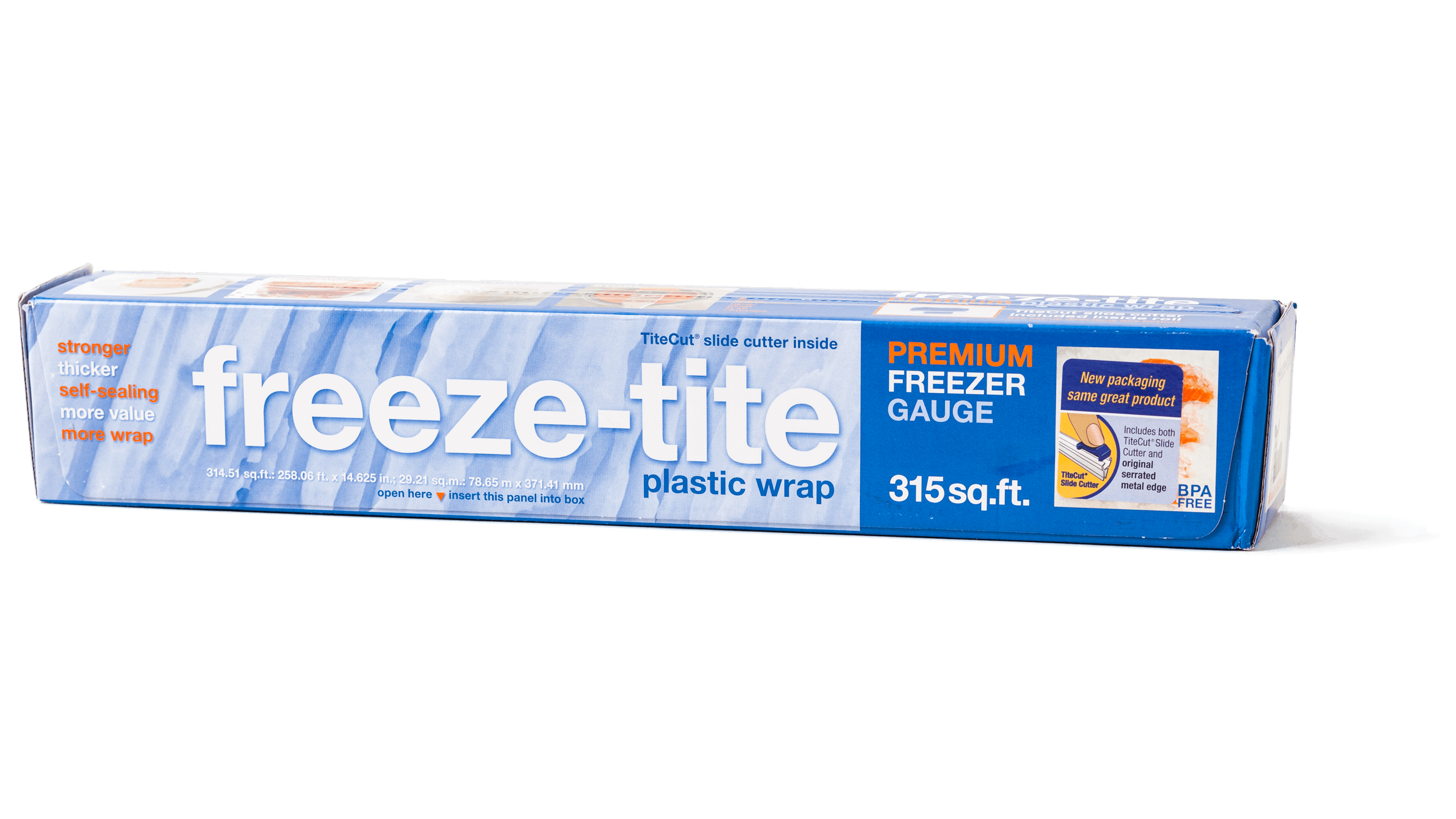 41185 sil plastic wraps freeze tite clear high cling freezer wrap 71 01525 sq