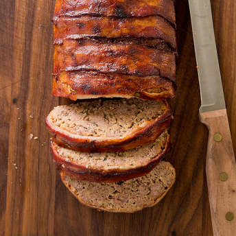 America S Test Kitchen Bacon Wrapped Meatloaf