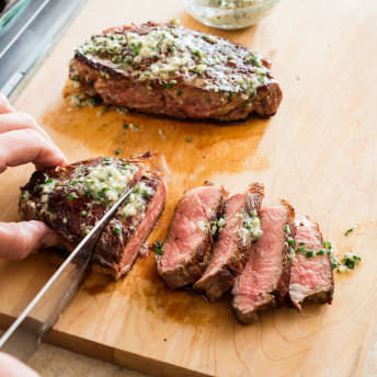 Americas Test Kitchen Steaks In Cst Iron
