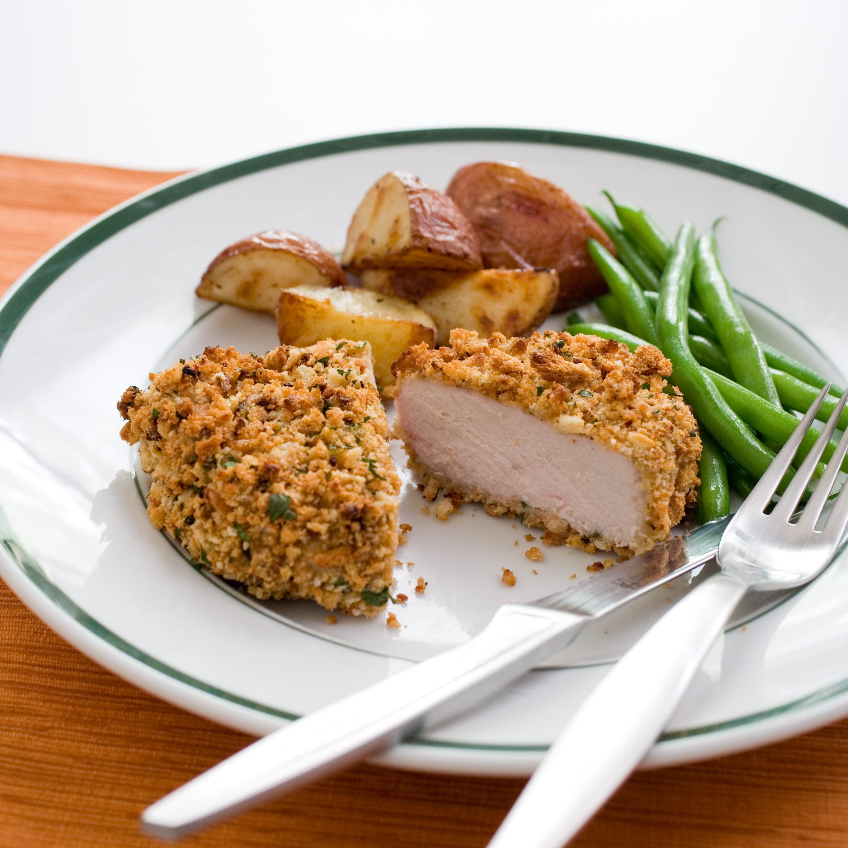 Crunchy Baked Pork Chops Cook S Illustrated