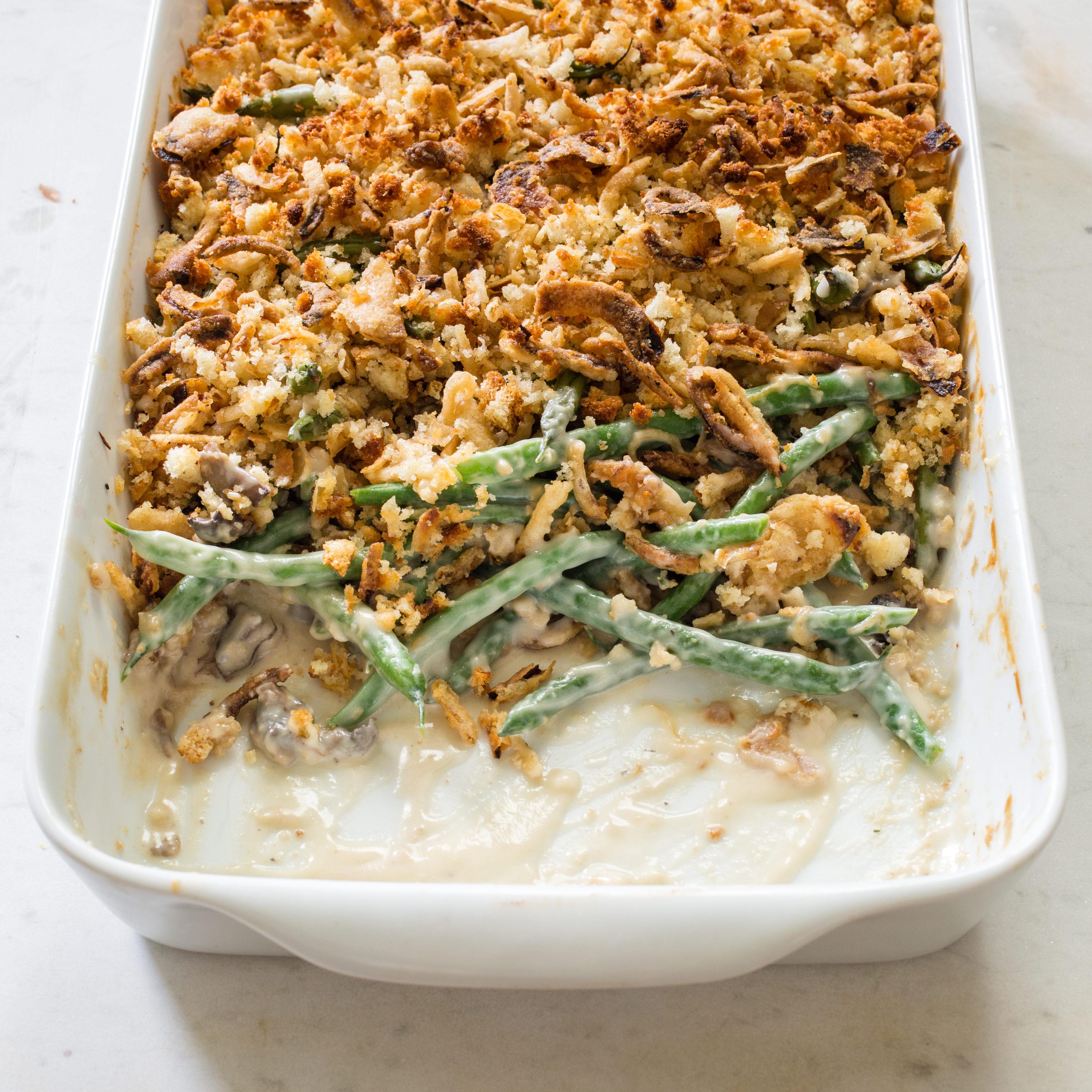 Upgrade Your Thanksgiving Green Bean Casserole Recipe Cook S