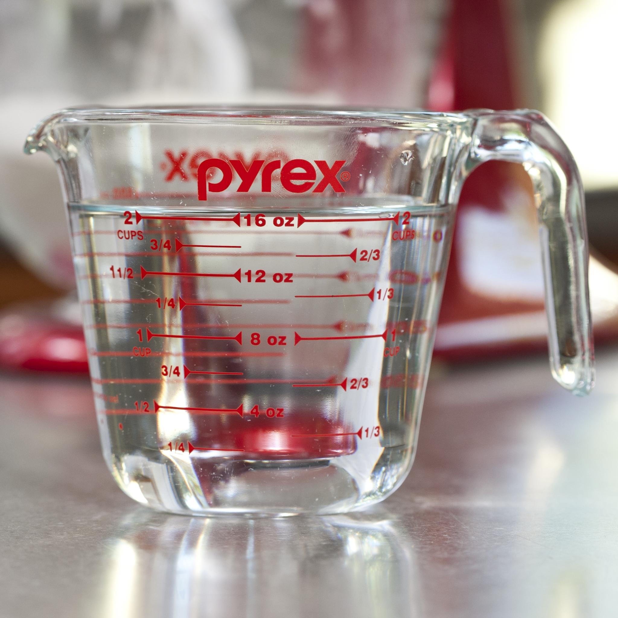 Half of 1 3/4 cup liquid