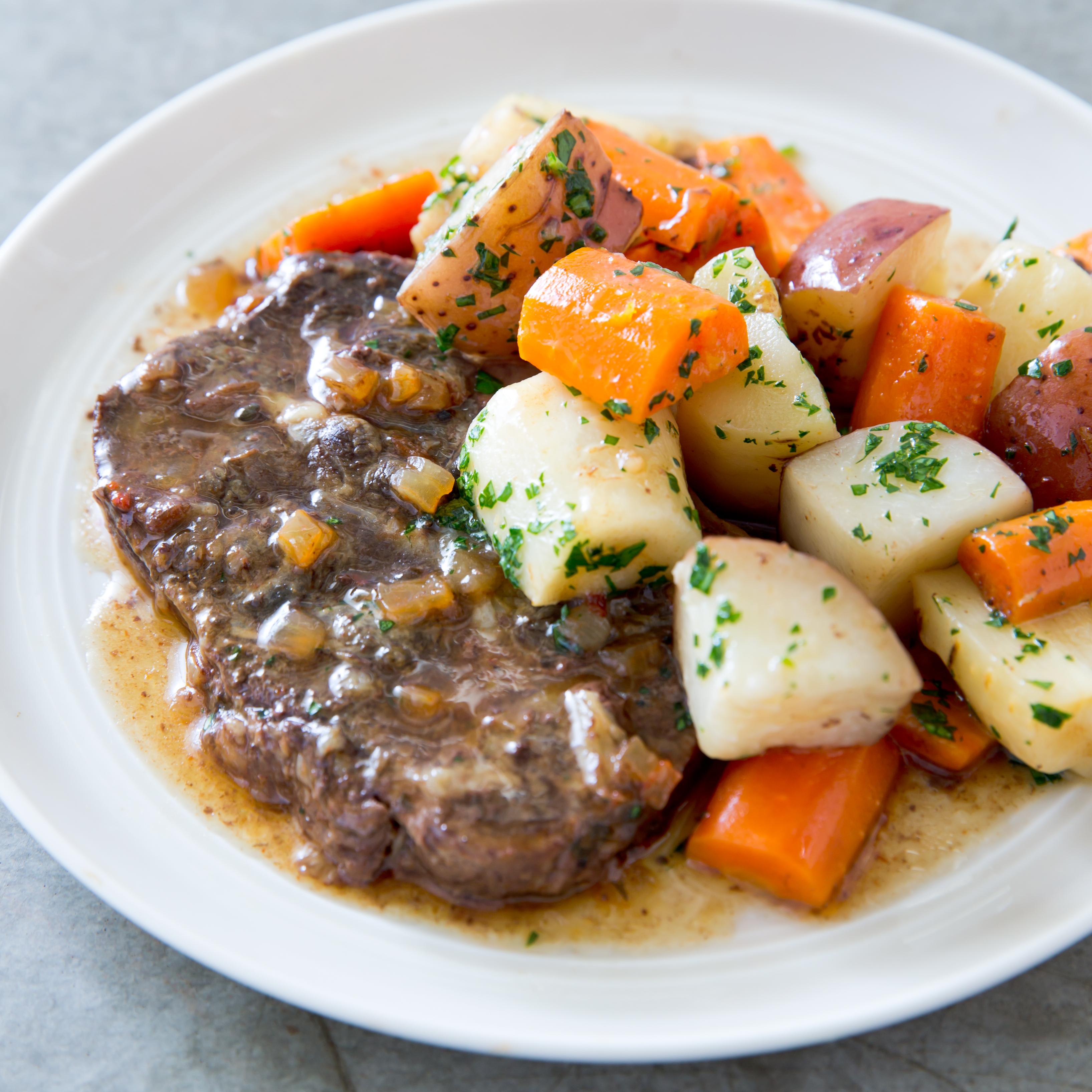 Astonishing Slow Cooker Braised Steaks With Root Vegetables Best Image Libraries Sapebelowcountryjoecom