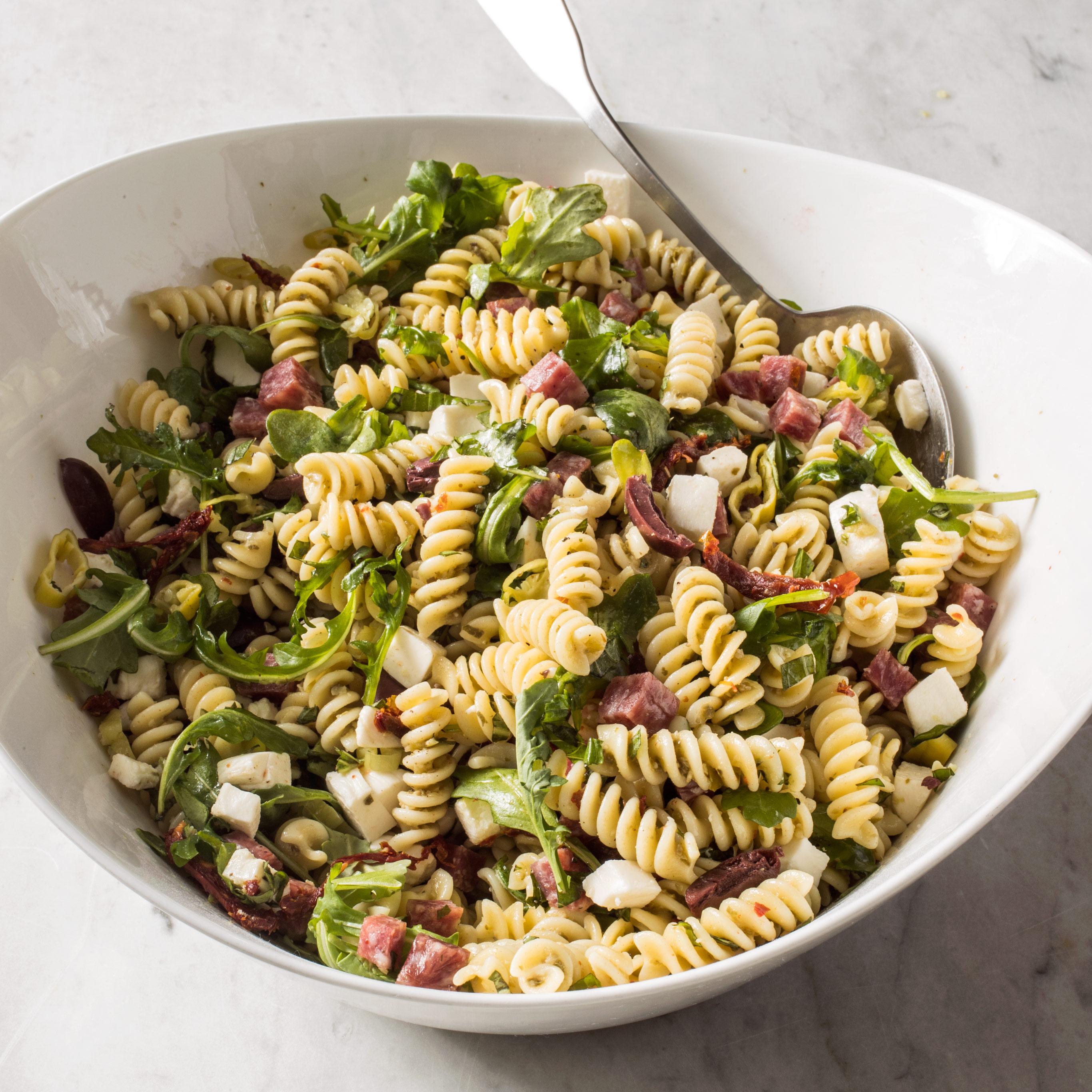 Italian Pasta Salad America S Test Kitchen