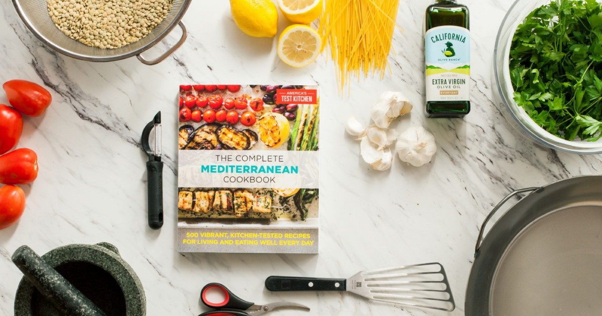 The Complete Mediterranean Cookbook | The Complete Mediterranean Cookbook