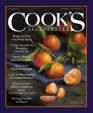 Cover of latest Cook's Illustrated issue