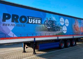Tradekar vrachtwagen zeildoek