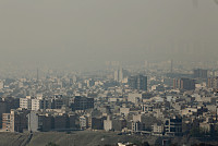 Smog in Iran has forced schools and...
