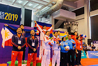 Cambodia medals 13 medals stand seventh