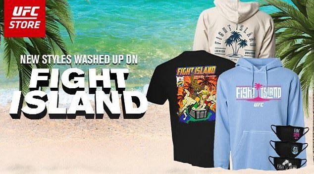 ufc fight island clothing
