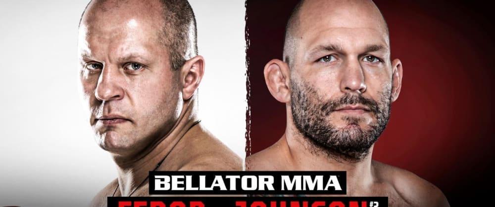 Cover image for Bellator 269: Fedor vs. Johnson. 23rd October 2021.