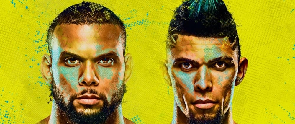 Cover image for UFC Fight Night Walker v Santos. Destiny is calling Walker towards greatness, but can he capitalise?