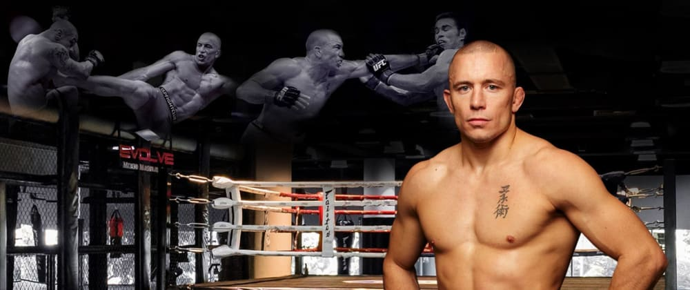 Cover image for Georges St-Pierre's pre-fight ritual for de-stress and anxiety