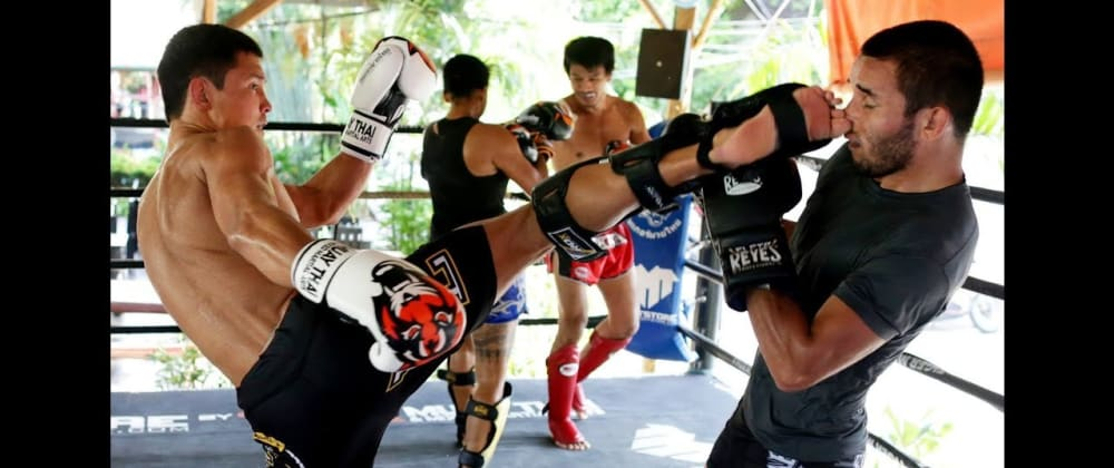 Cover image for My Muay Thai Story.  You're never to old and it's never to late.