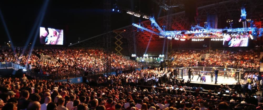 Cover image for Attending my first UFC fight night