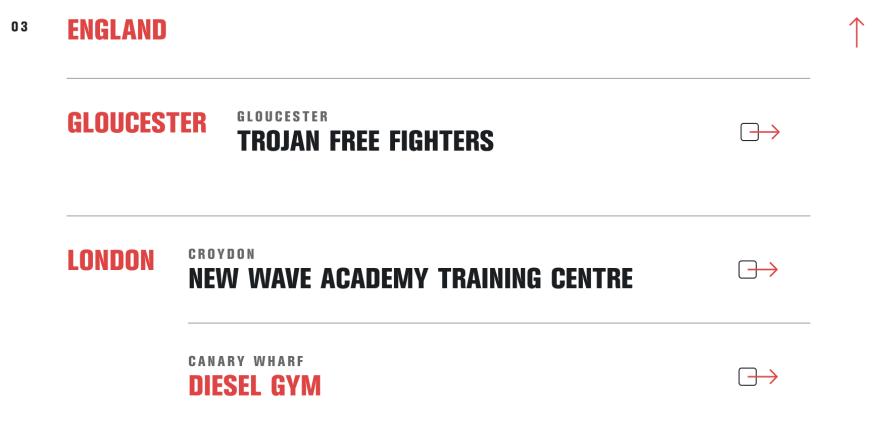wimp 2 warrior gyms london