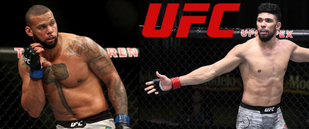 Cover image for UFC Fight Night. Thiago Santos v Johnny Walker, October 2nd 2021.