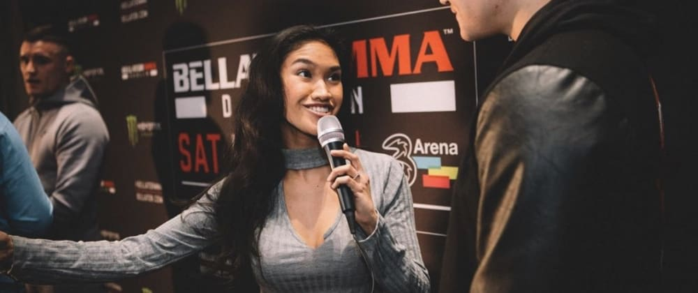 Cover image for How to become an MMA presenter like Vanessa Campos 🔥💃🏽