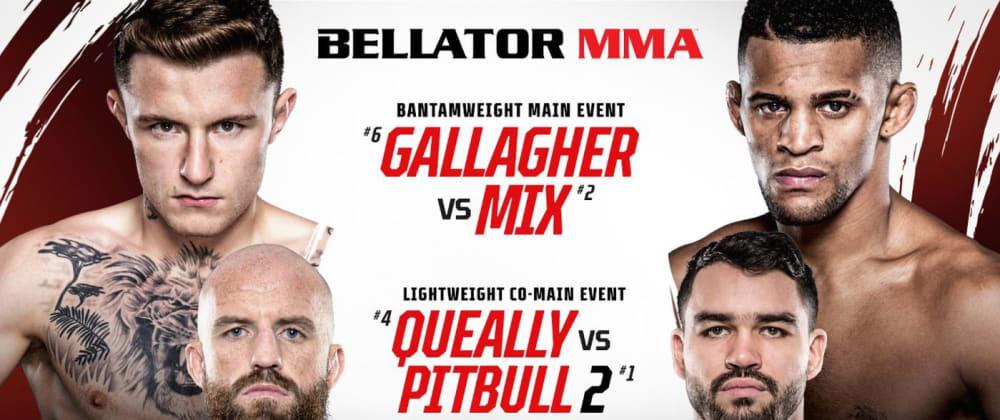 Cover image for Bellator 270: Peter Queally vs Patricky Pitbull 2