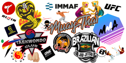 This MMA Life Logo