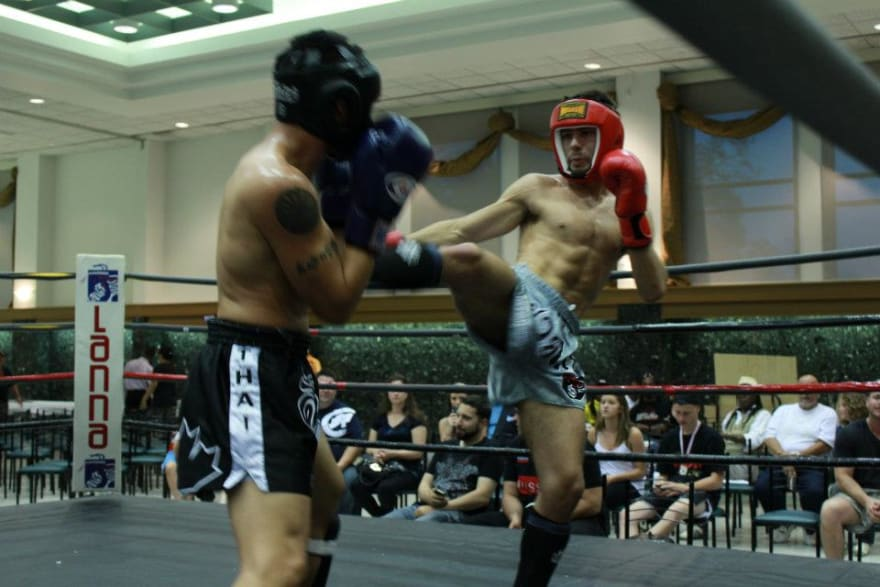 Muay Thai Fight in Vaughan Toronto
